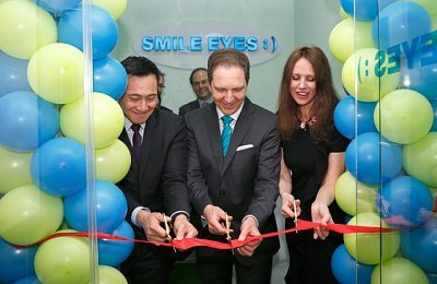 SMILE EYES Refractive Surgery Clinic Opened in Moscow